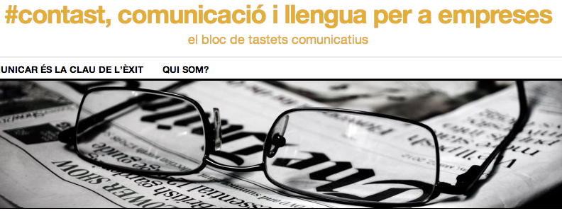 #contast, comunicació i llengua per a empreses