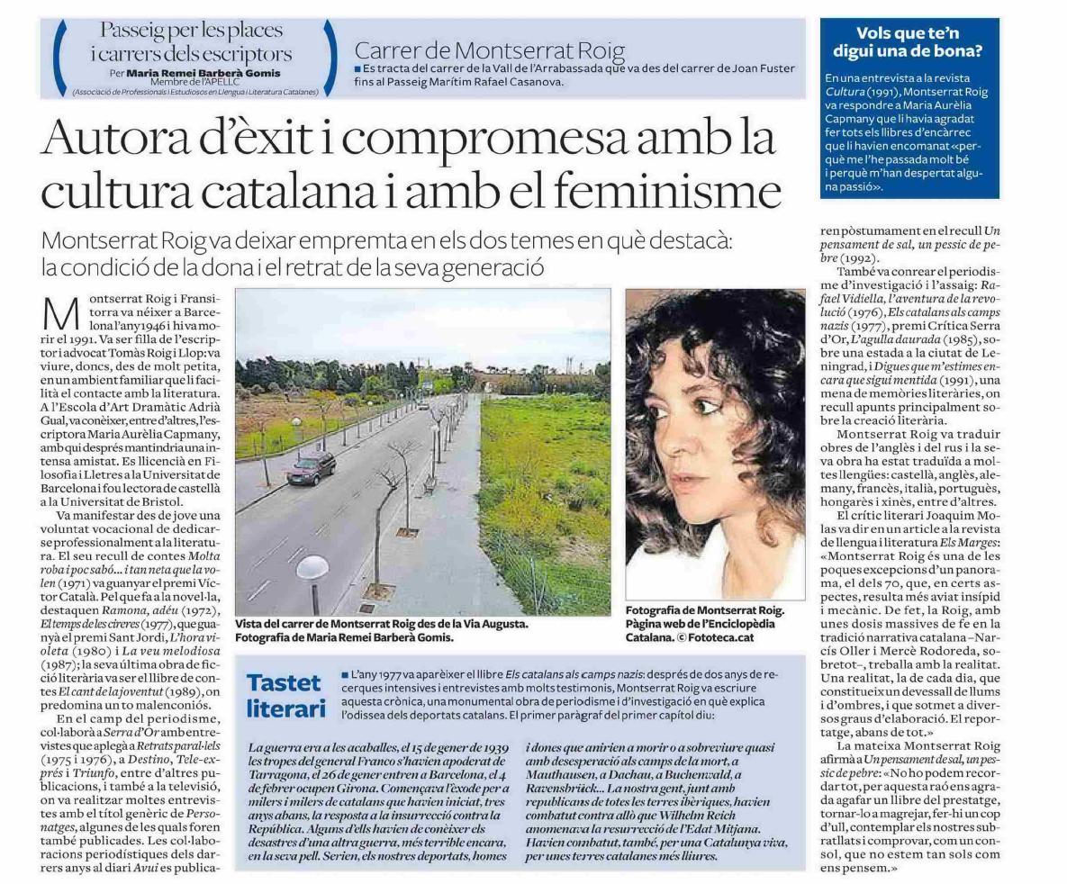 26. Montserrat Roig