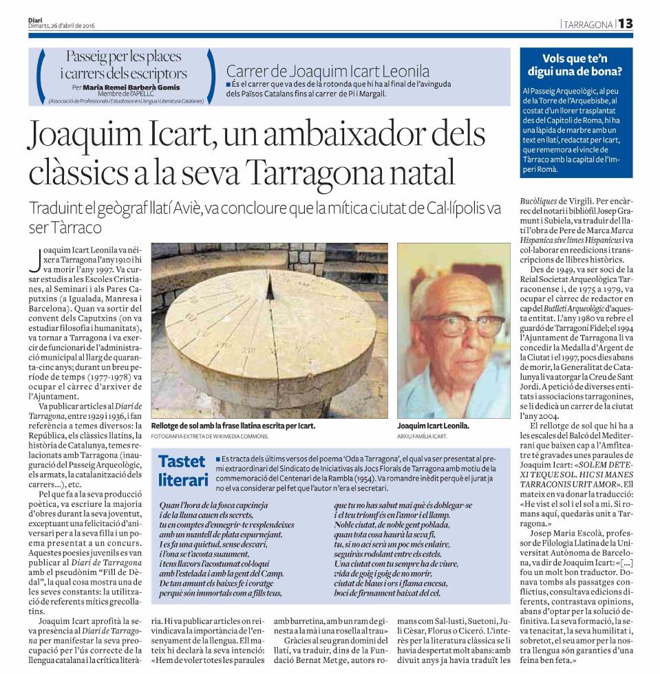 28. Joaquim Icart