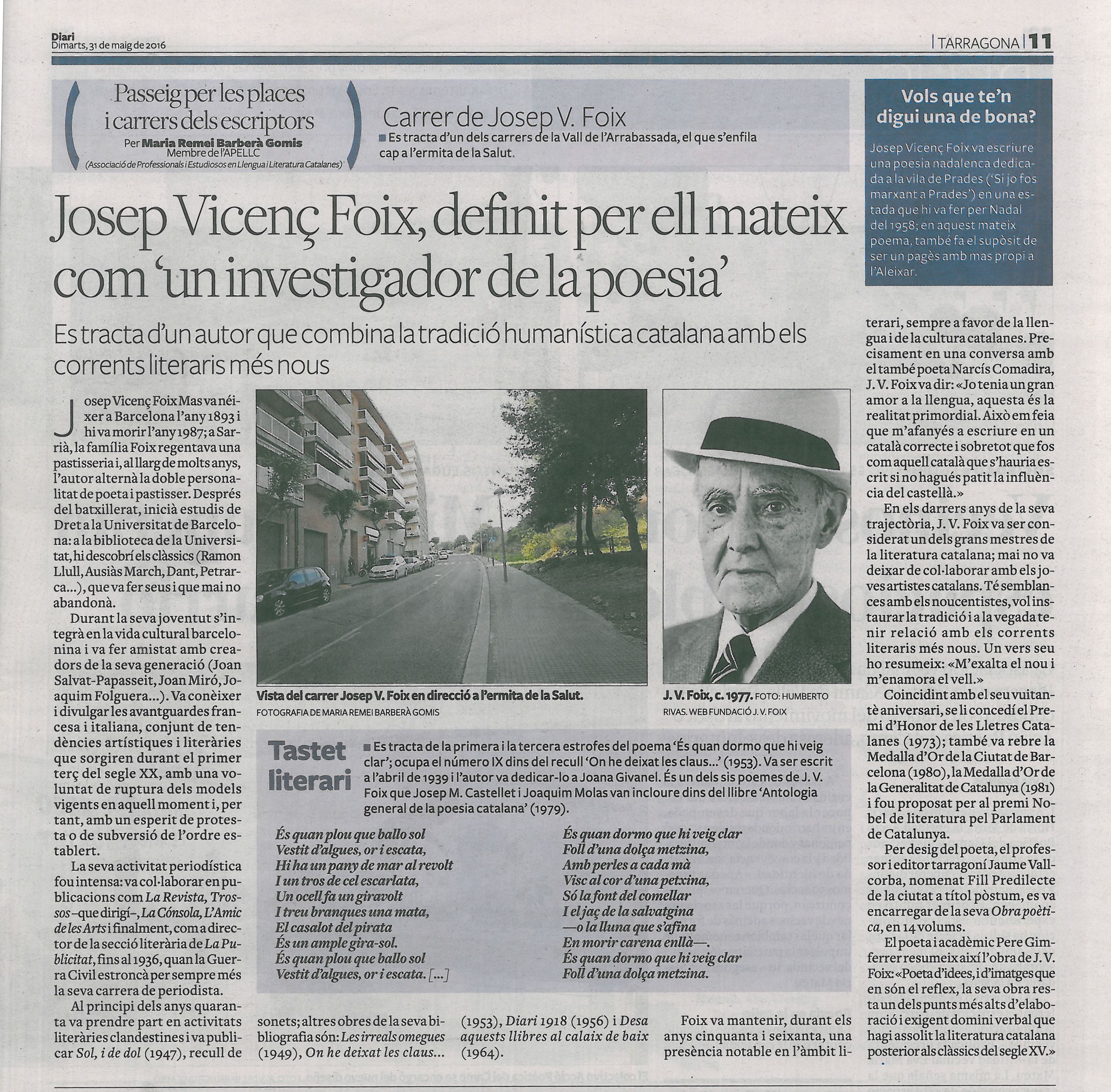 30. J. V. FOIX