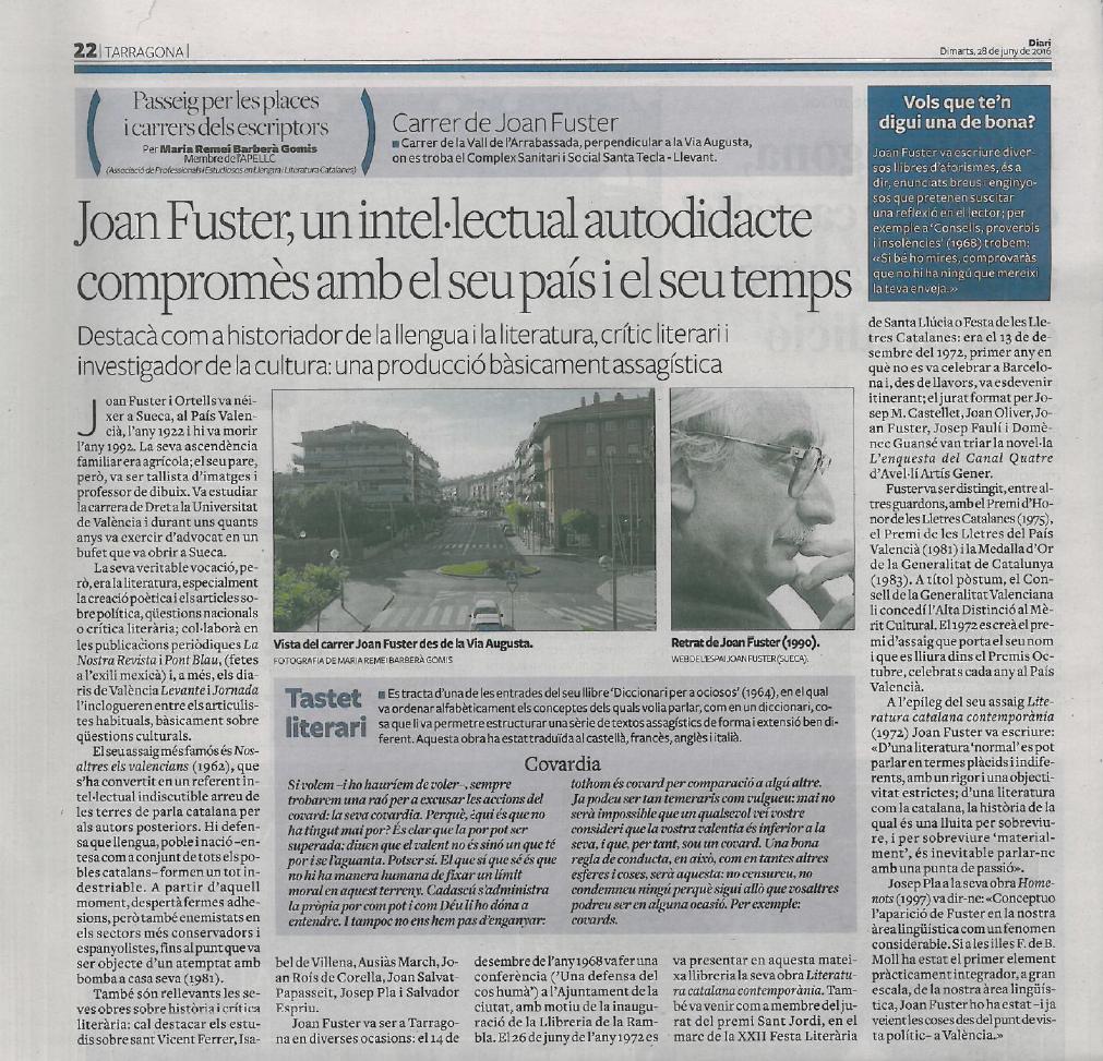 32. JOAN FUSTER